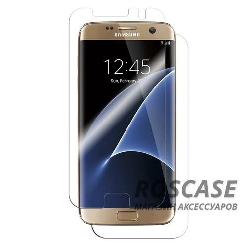 Противоударная четырехслойная защитная пленка BestSuit на обе стороны из прозрачного скользящего покрытия для Samsung G935F Galaxy S7 EdgeОписание:производитель -&amp;nbsp;BestSuit;совместимость - Samsung G935F Galaxy S7 Edge;материал - полимер;тип - защитная пленка.Особенности:пленка закрывает экран полностью, в том числе боковые закругления стекла;олеофобное покрытие;высокая прочность;ультратонкая;прозрачная;имеет все необходимые вырезы;защита от ударов и царапин;анти-бликовое покрытие;в комплекте пленка на заднюю панель, а также средства для установки.<br><br>Тип: Бронированная пленка<br>Бренд: BestSuit