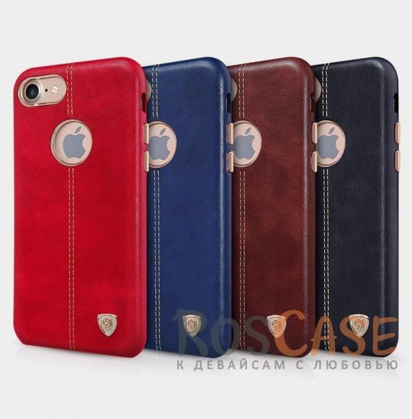 Кожаная накладка Nillkin Englon Series для Apple iPhone 7 (4.7)Описание:произведено брендом&amp;nbsp;Nillkin;совместимость - Apple iPhone 7 (4.7);материал: натуральная кожа, микрофибра;тип: накладка.&amp;nbsp;Особенности:ультратонкий дизайн;фактурная поверхность;декоративная строчка;не скользит в руках;защищает заднюю панель и боковые грани.<br><br>Тип: Чехол<br>Бренд: Nillkin<br>Материал: Натуральная кожа