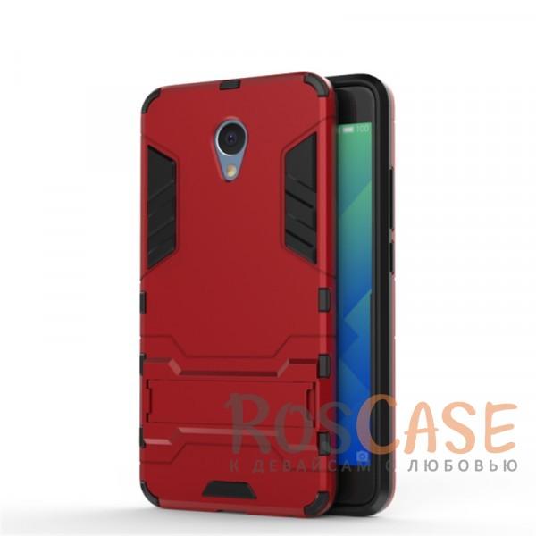 Ударопрочный чехол-подставка Transformer для Meizu M5 Note с мощной защитой корпуса (Красный / Dante Red)Описание:чехол разработан для Meizu M5 Note;материалы - термополиуретан, поликарбонат;тип - накладка;функция подставки;защита от ударов;прочная конструкция;не скользит в руках.<br><br>Тип: Чехол<br>Бренд: Epik<br>Материал: Пластик
