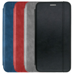 Open Color 2 | Кожаный чехол-книжка для Huawei P30 lite / Honor 20 Lite / Honor 20S / Nova 4E с магнитом и подставкой