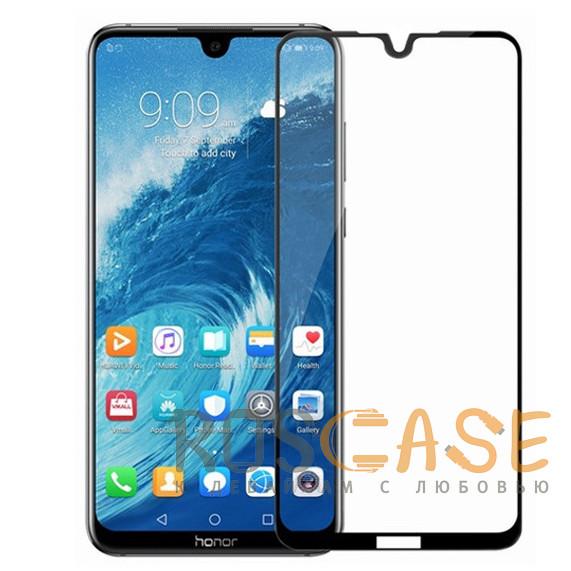 Фото Черный 5D защитное стекло для Huawei Honor 8X Max на весь экран