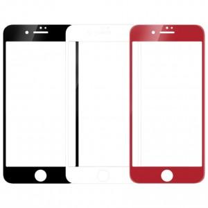 """Защитное стекло с цветной рамкой на весь экран для Apple iPhone 7 / 8 (4.7"""")"""