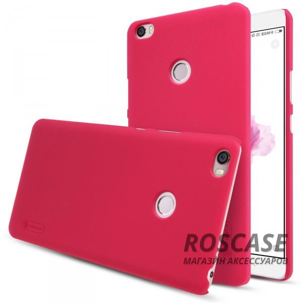 Чехол Nillkin Matte для Xiaomi Mi Max (+ пленка) (Красный)Описание:бренд:&amp;nbsp;Nillkin;спроектирован для Xiaomi Mi Max;материал: поликарбонат;тип: накладка.Особенности:не скользит в руках благодаря рельефной поверхности;защищает от повреждений;прочный и долговечный;легко устанавливается и снимается;пленка для защиты экрана в комплекте.<br><br>Тип: Чехол<br>Бренд: Nillkin<br>Материал: Пластик