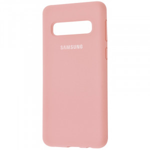 Чехол Silicone Cover для Samsung Galaxy S10  (full protective)
