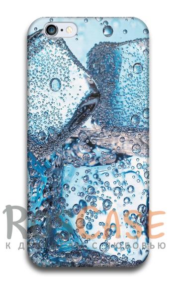 """Фото Кубики льда Пластиковый чехол RosCase """"ЛЕТО!"""" для iPhone 6/6s (4.7"""")"""