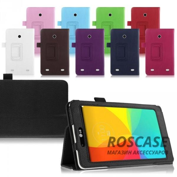 фото кожаный чехол-книжка TTX с функцией подставки для LG G Pad 7.0 (V400)