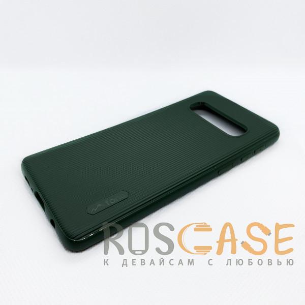 Изображение Зеленый Силиконовая накладка Fono для Samsung Galaxy S10