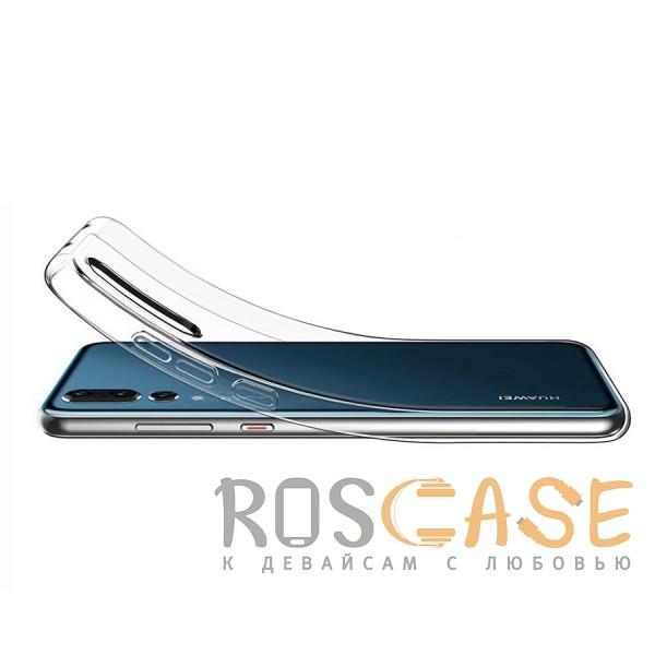 Фотография Прозрачный J-Case THIN | Гибкий силиконовый чехол для Huawei P20 Pro