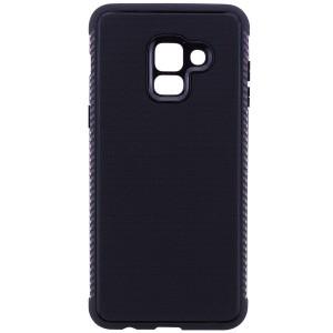 Weave | Гибкий силиконовый чехол для Samsung A530 Galaxy A8 (2018) с ребристыми гранями