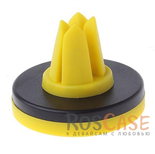 Изображение Желтый Remax Air Vent RM-C10 | Яркий магнитный держатель для смартфона
