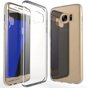 Ультратонкий силиконовый чехол  для Samsung Galaxy S7 Edge (G935F)