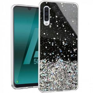 TPU чехол Star Glitter  для Samsung Galaxy A50s