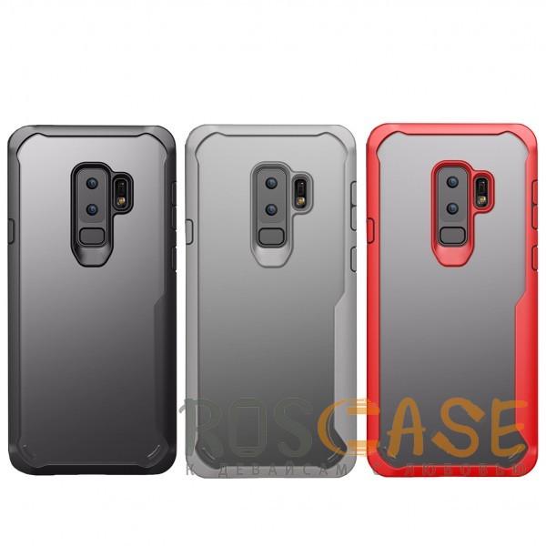 Фото iPaky Luckcool | Чехол для Samsung Galaxy S9+ с цветными силиконовыми вставками