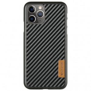 Карбоновая накладка G-Case Dark series для iPhone 11