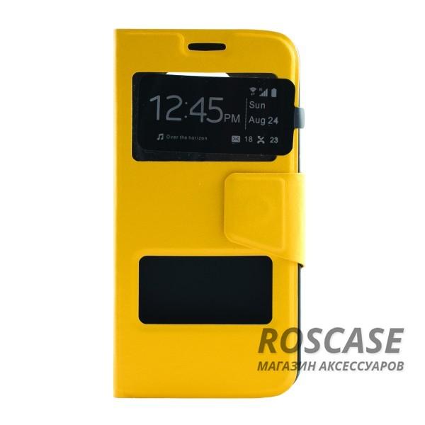 Чехол (книжка) с TPU креплением для Samsung G925F Galaxy S6 Edge (Желтый)Описание:производитель - бренд&amp;nbsp;Epik;разработан для Samsung G925F Galaxy S6 Edge;материал: искусственная кожа;тип: чехол-книжка.&amp;nbsp;Особенности:имеются функциональные вырезы;магнитная застежка;защита от ударов и падений;окошко в обложке;ответ на вызов через обложку;не скользит в руках.<br><br>Тип: Чехол<br>Бренд: Epik<br>Материал: Искусственная кожа