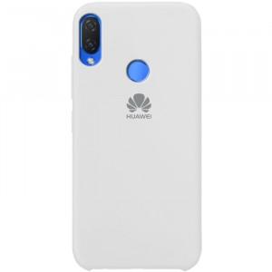 Силиконовый чехол для Huawei P smart / Enjoy 7S с покрытием soft touch