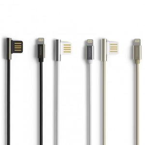 Remax Emperor | Дата кабель USB to Lightning с угловым штекером USB (100 см)