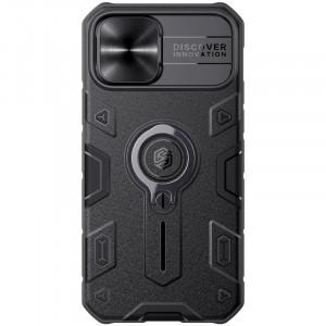 Nillkin CamShield Armor | Противоударный чехол с защитой камеры и кольцом  для iPhone 12 / 12 Pro