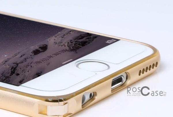 фото металлический бампер Remax для Apple iPhone 6/6s (4.7