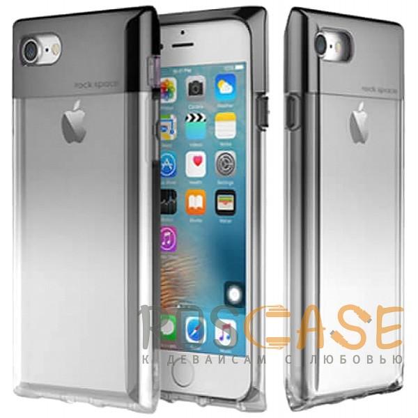 Rock Crystal | Чехол/8/SE (2020) в виде флакона духов с градиентной расцветкой (Черный / Transparent black) от 1280 руб. для iPhone 7