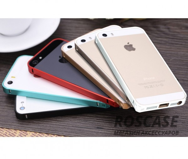 фото бампера Rock Slim Guard для Apple iPhone 5/5S/5SE