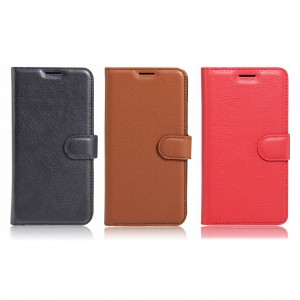 Wallet | Кожаный чехол-кошелек с внутренними карманами для Xiaomi Redmi Note 4X (MediaTek)