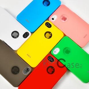 Пластиковая накладка ROCK Shining Series Naked Ultra Thin для Iphone 4/4S