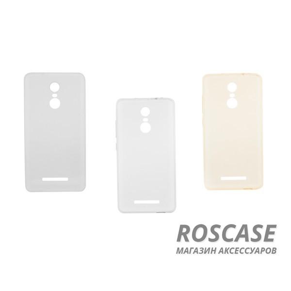 Тонкий прозрачный силиконовый чехол Msvii для Xiaomi Redmi Note 3 / Pro с заглушкой (+стекло)Описание:изготовлен компанией Msvii;совместимость: Xiaomi Redmi Note 3 / Redmi Note 3 Pro;материал: термополиуретан;тип: накладка.Особенности:ультратонкий - 0,2 мм;заглушка для разъема для зарядного устройства;функциональные вырезы;прозрачный;гибкий;защищает от механических повреждений;стекло на экран в комплекте (закругленные грани 2.5D, олеофобное покрытие).<br><br>Тип: Чехол<br>Бренд: Epik<br>Материал: TPU