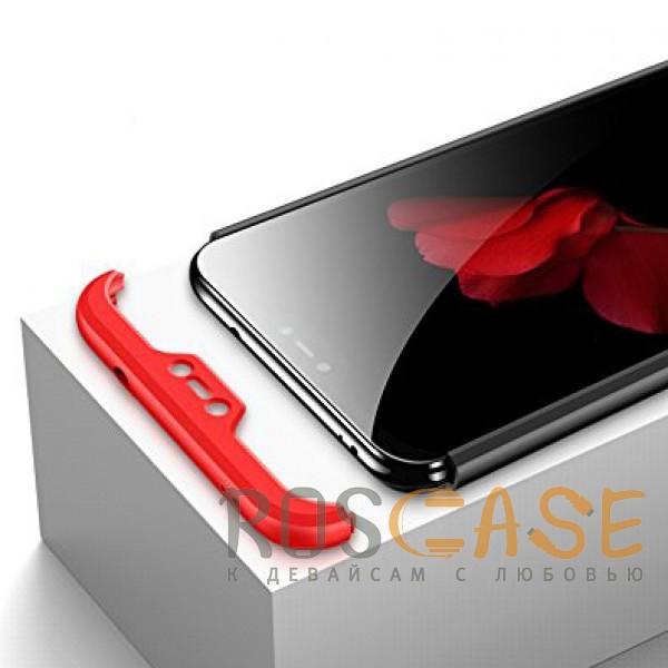 Фотография Черный / Красный GKK LikGus 360°   Двухсторонний чехол для Xiaomi Mi A2 Lite / Xiaomi Redmi 6 Pro с защитными вставками