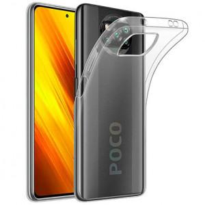 Clear Case | Прозрачный TPU чехол 2мм  для Xiaomi Poco X3 (NFC)