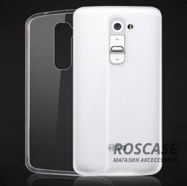 TPU чехол Ultrathin Series 0,33mm для LG D802 Optimus G2 (Бесцветный (прозрачный))Описание:бренд:&amp;nbsp;Epik;совместим с LG D802 Optimus G2;материал: термополиуретан;тип: накладка.&amp;nbsp;Особенности:ультратонкий дизайн - 0,33 мм;прозрачный;эластичный и гибкий;надежно фиксируется;все функциональные вырезы в наличии.<br><br>Тип: Чехол<br>Бренд: Epik<br>Материал: TPU