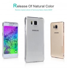 фото TPU чехол Nillkin Nature Series для Samsung G850F Galaxy Alpha