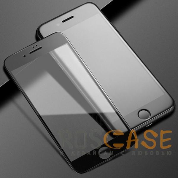 """Фото Черное 5D защитное стекло для Apple iPhone 7 / 8 (4.7"""") на весь экран"""