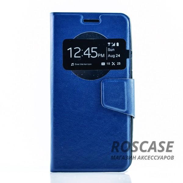 Чехол (книжка) с TPU креплением для Asus Zenfone 5 (A501CG) (Синий)Описание:разработан компанией&amp;nbsp;Epik;спроектирован для Asus Zenfone 5 (A501CG);материал: синтетическая кожа;тип: чехол-книжка.&amp;nbsp;Особенности:имеются все функциональные вырезы;магнитная застежка закрывает обложку;защита от ударов и падений;в обложке есть окошко;превращается в подставку.<br><br>Тип: Чехол<br>Бренд: Epik<br>Материал: Искусственная кожа