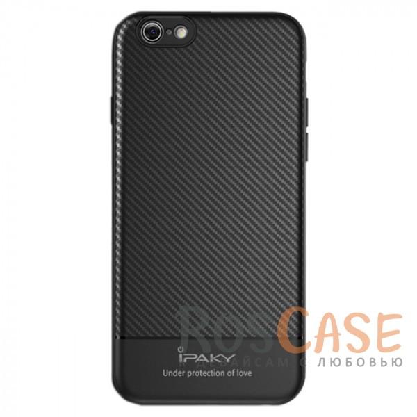 iPaky Musy | Ультратонкий чехол для Apple iPhone 7 / 8 (4.7) с карбоновым покрытием (Черный)Описание:совместимость - Apple iPhone 7 / 8 (4.7);тип - накладка;материалы - TPU, карбоновое покрытие;не заметны отпечатки пальцев;защита от царапин, сколов, трещин;ультратонкий дизайн;завышенные бортики вокруг камеры;защита клавиш;все необходимые функциональные вырезы.<br><br>Тип: Чехол<br>Бренд: iPaky<br>Материал: Пластик