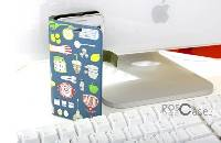 #Кожаный чехол (книжка) Happymori Kitchen Therapy Series для Apple iPhone 5/5S