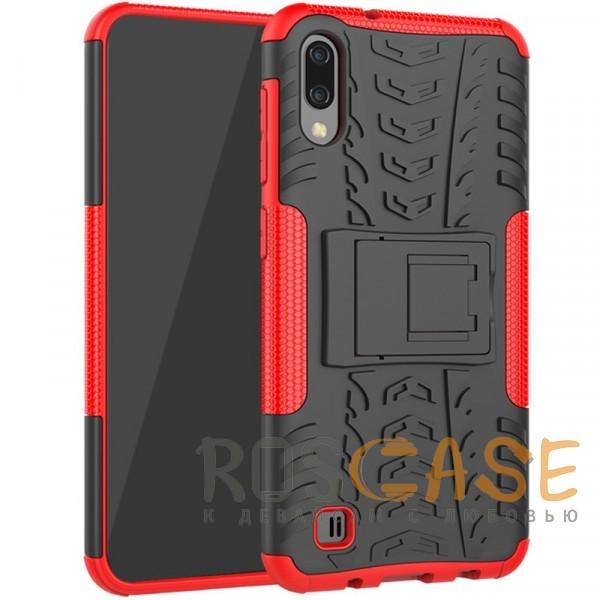 Фото Красный Shield | Противоударный чехол для Galaxy A20 / A30 / A50 с подставкой