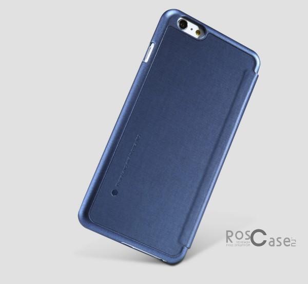 Кожаный чехол (книжка) Nillkin Rain Series для Apple iPhone 6/6s plus (5.5) (+ пленка) (Синий)Описание:производитель  -  компания&amp;nbsp;Nillkin;совместимость - Apple iPhone 6/6s plus (5.5);материалы  -  искусственная кожа, поликарбонат;форма  -  чехол-книжка.&amp;nbsp;Особенности:в наличии все функциональные вырезы;надежная система крепления;тонкий и легкий;пленка в комплекте;защита от ударов и царапин;необычный дизайн.<br><br>Тип: Чехол<br>Бренд: Nillkin<br>Материал: Искусственная кожа