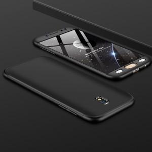 GKK LikGus 360° | Двухсторонний чехол для Samsung J730 Galaxy J7 (2017) с защитными вставками