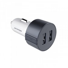 фото Серый АЗУ Nillkin Vigor 2xUSB Car Charger (5V/3.4A)