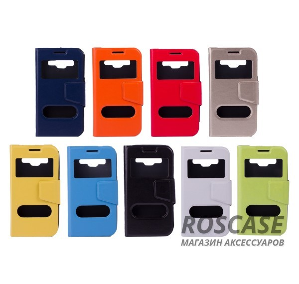 Чехол (книжка) с TPU креплением для Samsung G360H/G361H Galaxy Core Prime DuosОписание:компания-изготовитель: Epik;полная совместимость с устройством модели: Samsung G360H/G361H Galaxy Core Prime Duos;материал для изготовления: синтетическая кожа и термополиуретан;конфигурация: обложка в виде книжки.Особенности:всесторонняя защита смартфона;высокий класс износоустойчивости;возможность принимать звонки с закрытой обложкой;имеет 2 окошка.<br><br>Тип: Чехол<br>Бренд: Epik<br>Материал: Искусственная кожа