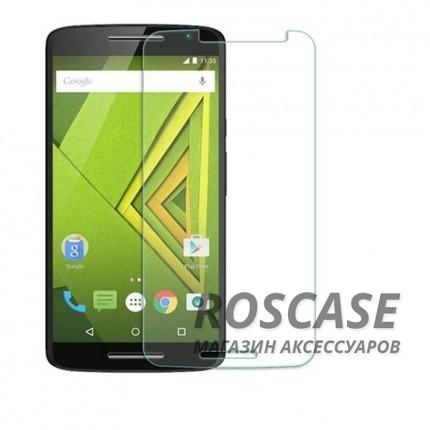 Защитное стекло Ultra Tempered Glass 0.33mm (H+) для Motorola Moto X Play (XT1562) (карт. упаковка)Описание:совместимо с устройством Motorola Moto X Play (XT1562);материал: закаленное стекло;тип: защитное стекло на экран.&amp;nbsp;Особенности:закругленные&amp;nbsp;грани стекла обеспечивают лучшую фиксацию на экране;стекло очень тонкое - 0,33 мм;отзыв сенсорных кнопок сохраняется;стекло не искажает картинку, так как абсолютно прозрачное;выдерживает удары и защищает от царапин;размеры и вырезы стекла соответствуют особенностям дисплея.<br><br>Тип: Защитное стекло<br>Бренд: Epik