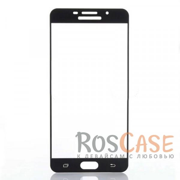 Защитное стекло с цветной рамкой на весь экран с олеофобным покрытием анти-отпечатки для Samsung A710F Galaxy A7 (2016) (Черный)Описание:компания&amp;nbsp;Epik;совместимо с Samsung A710F Galaxy A7 (2016);материал: закаленное стекло;тип: защитное стекло на экран.Особенности:полностью закрывает дисплей;толщина - 0,3 мм;цветная рамка;прочность 9H;покрытие анти-отпечатки;защита от ударов и царапин.<br><br>Тип: Защитное стекло<br>Бренд: Epik