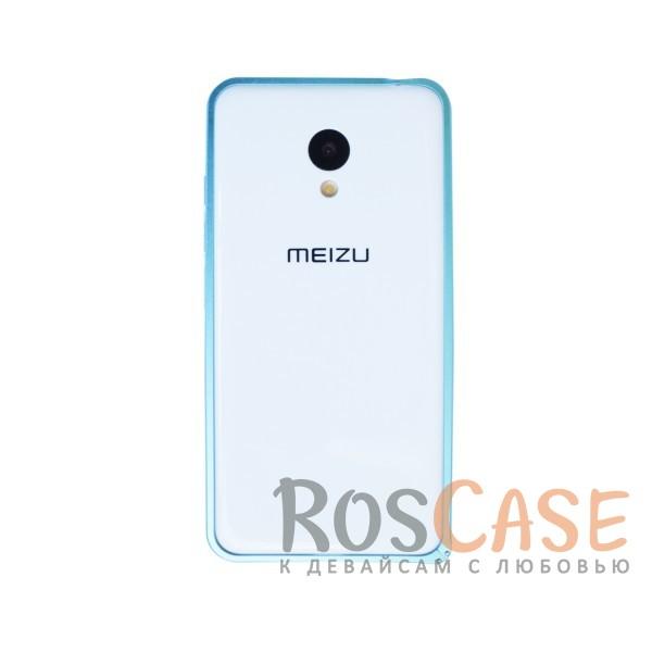 Металлический глянцевый защитный бампер на защелке для Meizu M3 / M3 mini / M3s (Синий)<br><br>Тип: Бампер<br>Бренд: Epik