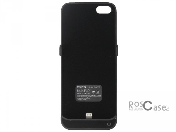 фото чехол-аккумулятор (4300 mAh) EXEQ HelpinG-iC07 для Apple iPhone 5/5S/5SE/5C