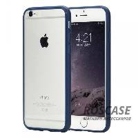 "TPU+PC чехол Rock Pure Series для Apple iPhone 6/6s (4.7"") (Синий / Navy Blue)"