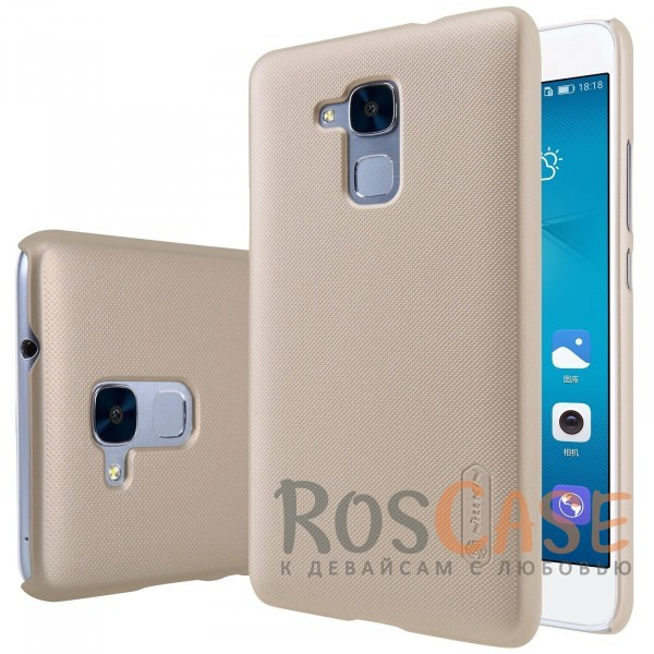 Чехол Nillkin Matte для Huawei GT3 (+ пленка) (Золотой)Описание:бренд:&amp;nbsp;Nillkin;спроектирован для Huawei GT3;материал: поликарбонат;тип: накладка.Особенности:не скользит в руках благодаря рельефной поверхности;защищает от повреждений;прочный и долговечный;легко устанавливается и снимается;пленка для защиты экрана в комплекте.<br><br>Тип: Чехол<br>Бренд: Nillkin<br>Материал: Пластик