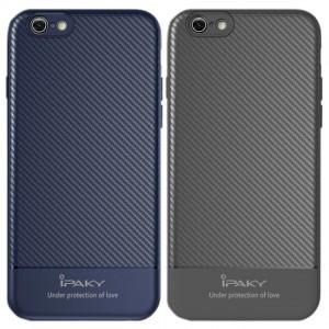 iPaky Musy | Ультратонкий чехол для iPhone 7/8/SE (2020) с карбоновым покрытием