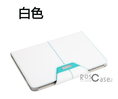 Фото Белый / White Кожаный чехол (книжка) ROCK Excel Series для Apple IPAD mini (RETINA)/Apple IPAD mini 3