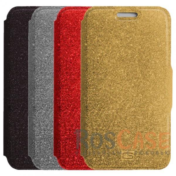 Стильный блестящий защитный чехол-книжка Gresso для смартфона с диагональю 4,9-5,2 дюймаОписание:бренд -&amp;nbsp;Gresso;совместимость -&amp;nbsp;смартфоны с диагональю 4,9-5,2 дюйма;материал - искусственная кожа;тип - чехол-книжка;блестящая поверхность;силиконовый шелл-крепление;магнитная застежка;защита со всех сторон;ВНИМАНИЕ: убедитесь, что ваша модель устройства находится в пределах максимального размера чехла. Размеры чехла:&amp;nbsp;14,5х7,5 см.<br><br>Тип: Чехол<br>Бренд: Gresso<br>Материал: Искусственная кожа